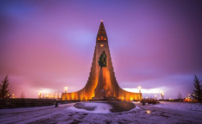 du lịch reykjavik - nhà thờ