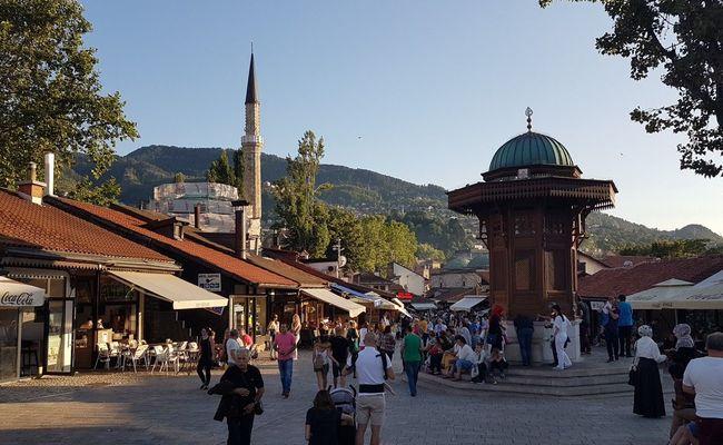 du lịch sarajevo - mùa hè