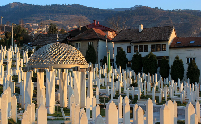 du lịch sarajevo - nghĩa trang
