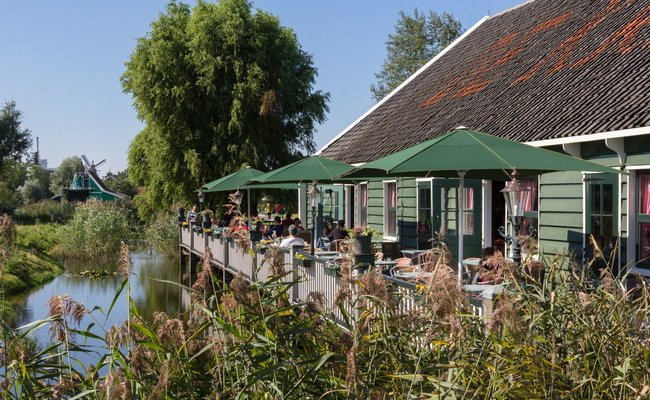 làng zaanse schans - nhà hàng de kraai