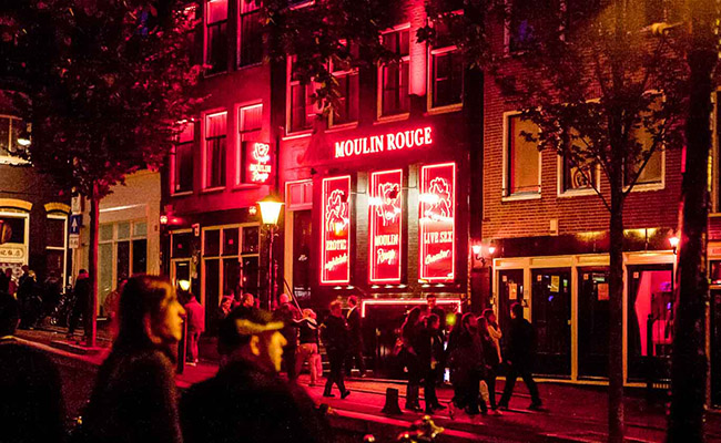 Phố đèn đỏ Hà Lan : Kinh nghiệm du lịch Phố đèn đỏ ở Amsterdam