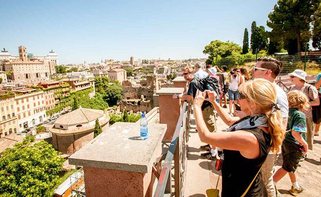 Những hình ảnh về Quảng Trường La Mã