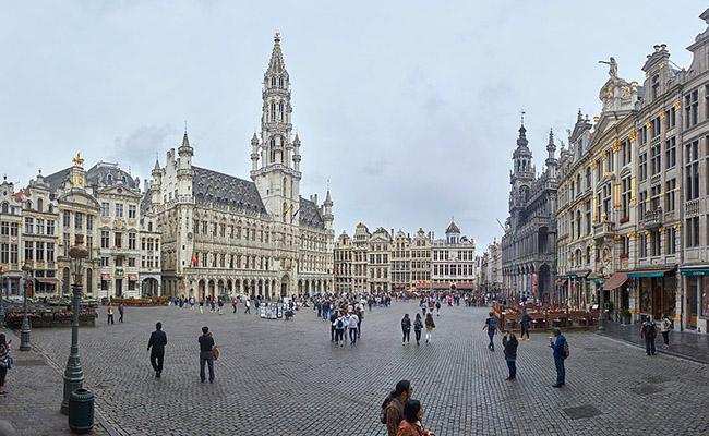 Quảng trường Lớn Grand Place (Bruxelles)