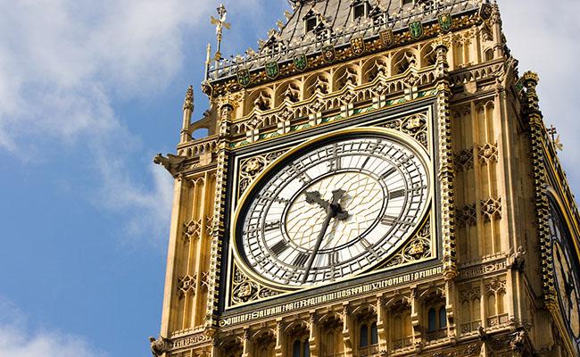 Thiết kế mặt đồng hồ Big Ben