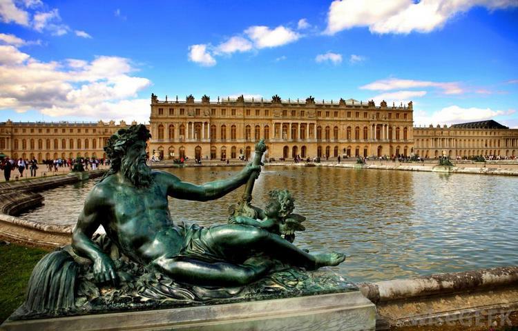 Một vài hình ảnh cung điện Versailles