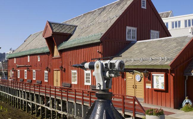 du lịch tromso - bảo tàng polar