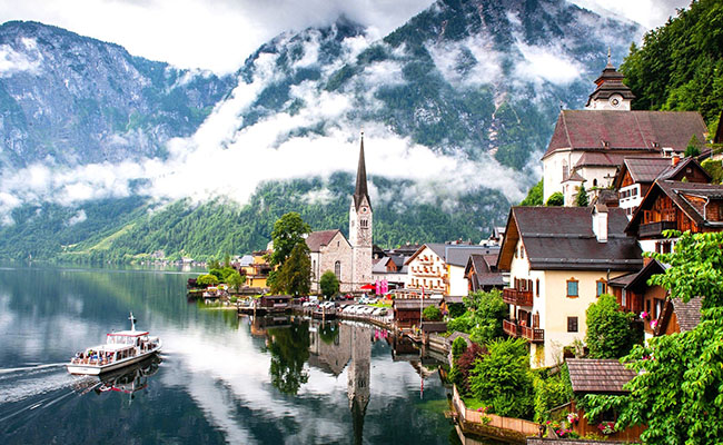 Làng Hallstatt, Áo