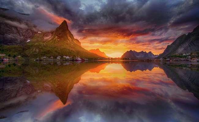 quần đảo Lofoten - mùa hè