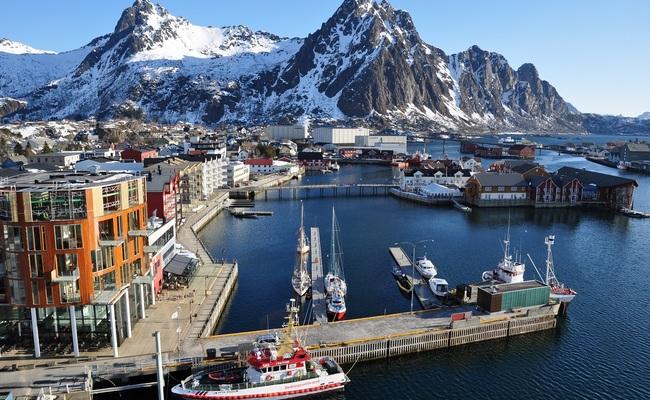 quần đảo Lofoten - thành phố Svolvær