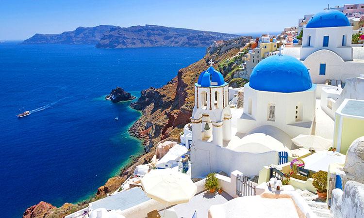 Santorini quyễn rũ
