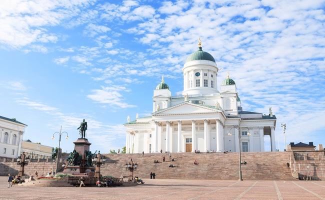 du lịch helsinki - nhà thờ helsinki