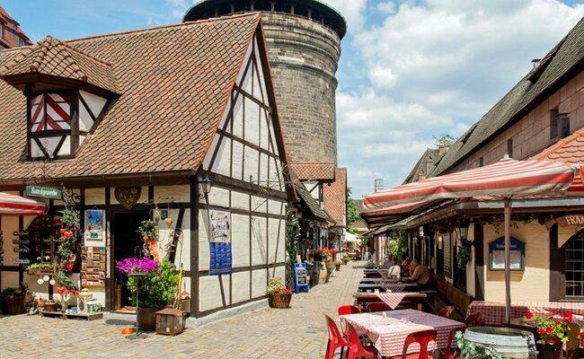 du lịch nuremberg - khu Lorenzer Seite