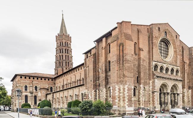 du lịch toulouse - nhà thờ saint sernin