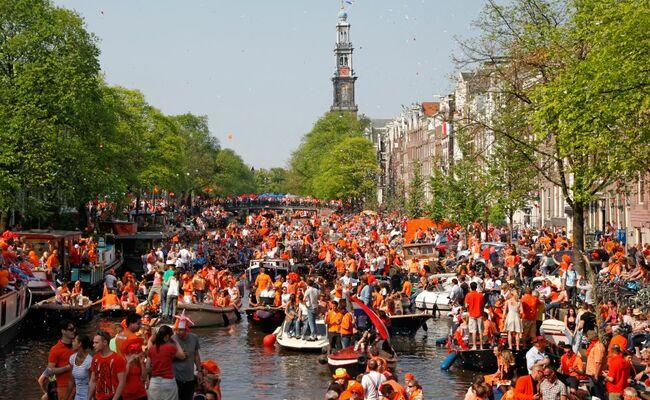 mùa xuân châu âu - amsterdam