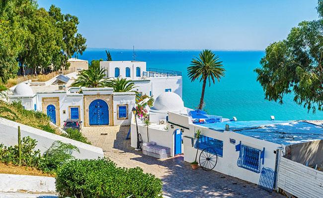 Làng Sidi Bou Said, Tunisia