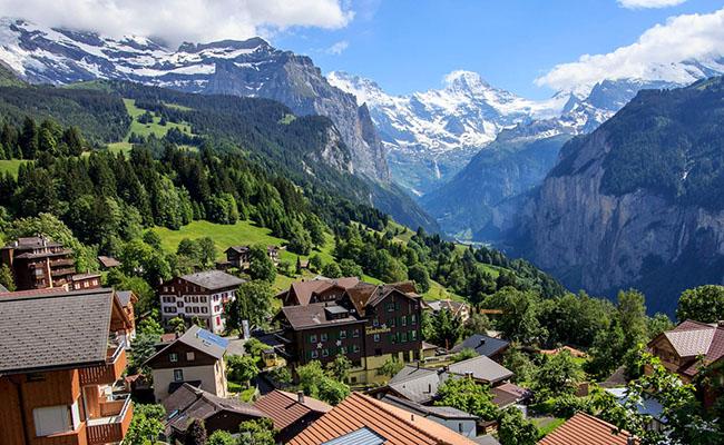 Làng Wengen, Thụy Sĩ