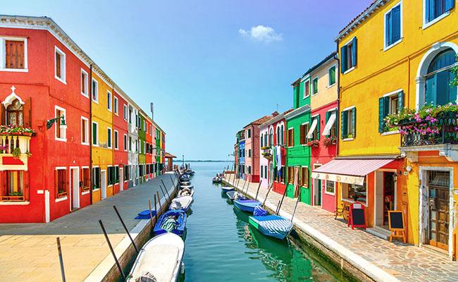 Làng Burano, Ý