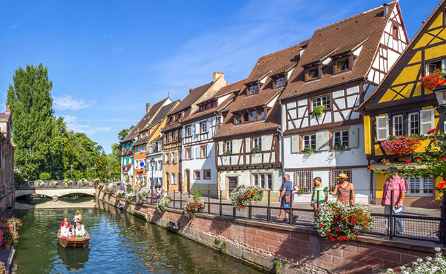 Làng Colmar, Pháp