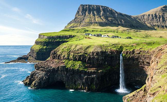 Làng Gásadalur, Quần đảo Faroe
