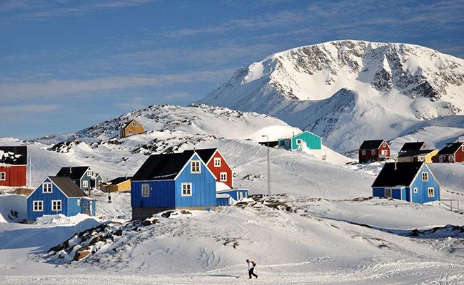 Làng Qasigiannguit, Greenland