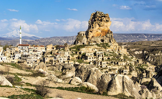 Làng Ortahisar, Thổ Nhĩ Kỳ
