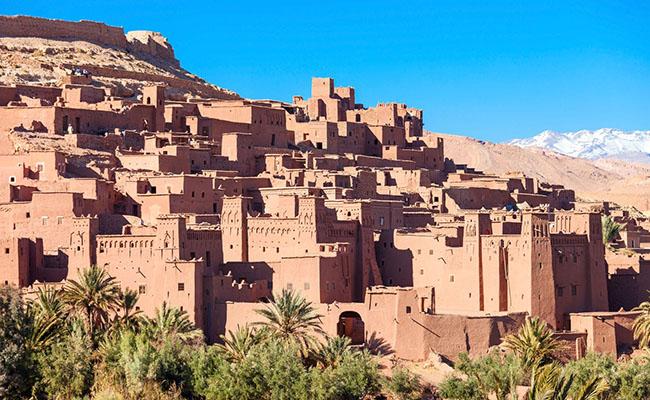 Làng Ait Ben-Haddou, Morocco