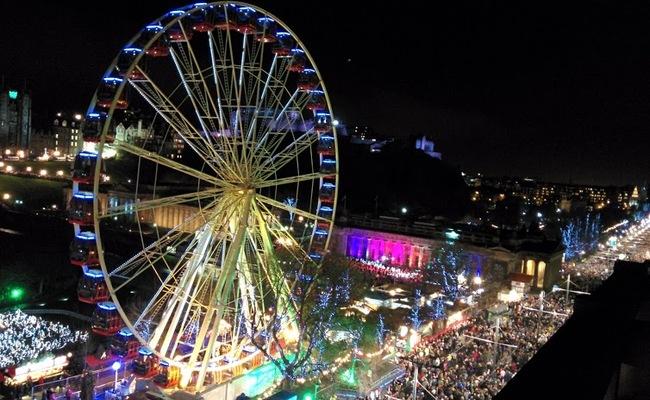 tháng 12 nên đi du lịch nước nào - Edinburgh