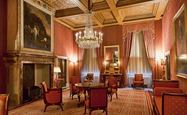 cung điện hoàng gia koninklijk - nội thất