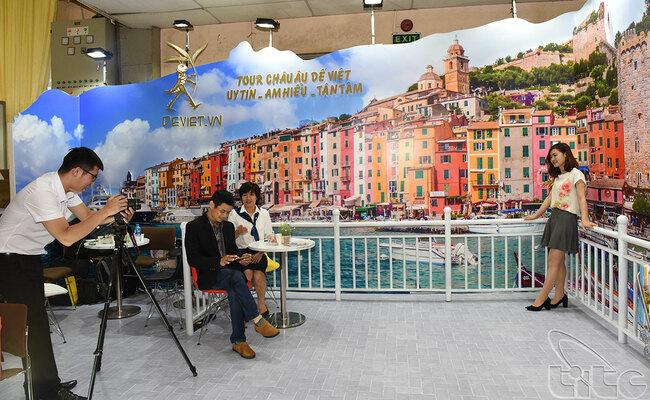 hội chợ du lịch quốc tế vitm - gian hàng dế việt