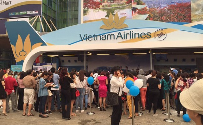 hội chợ du lịch quốc tế vitm - vietnam airlines