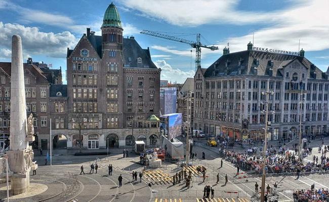 quảng trường dam square