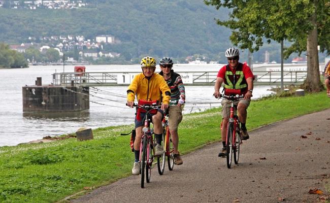sông rhine - xe đạp