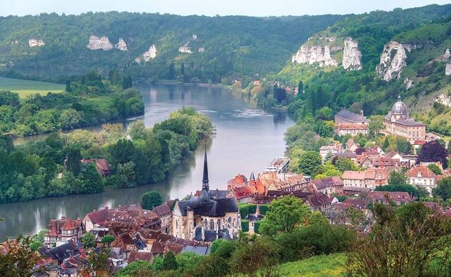 sông seine - vị trí