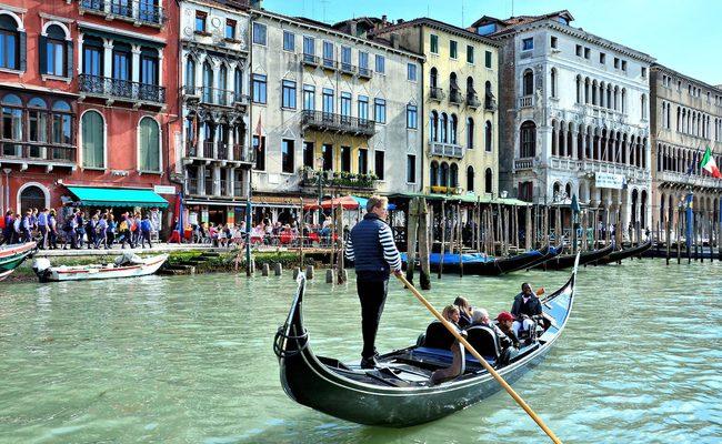 thuyền gondola - grand canal