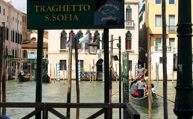 thuyền gondola - bến san sofia
