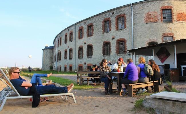cảnh đẹp ở châu âu - pháo đài patarei, estonia