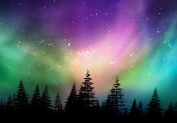 Say đắm trong những sắc màu cực quang tại xứ sở Bắc Âu
