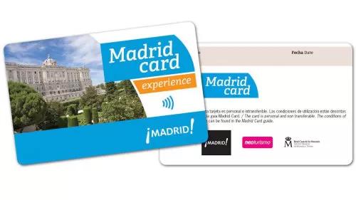 thẻ madrid card