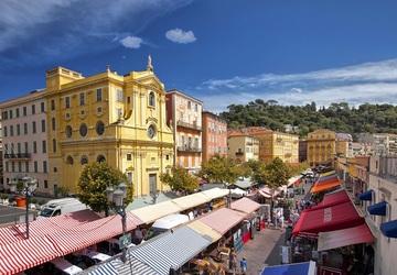 Khu phố cổ thần tiên Vieux Nice
