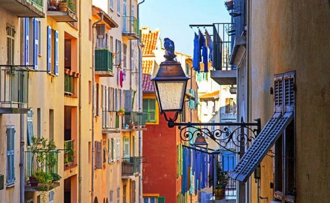 khu phố cổ vieux nice