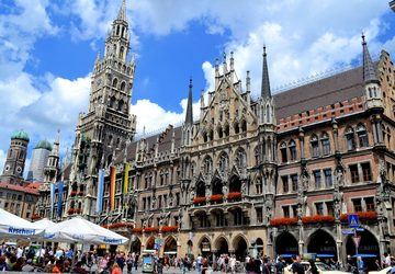 Quảng trường trung tâm Marienplatz – Niềm tự hào của thành phố Munich