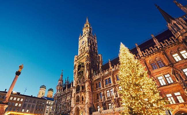 quảng trường trung tâm marienplatz