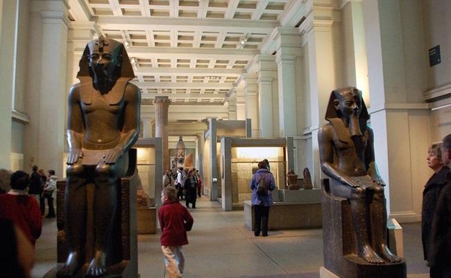 Những hiện vật trong bảo tàng British