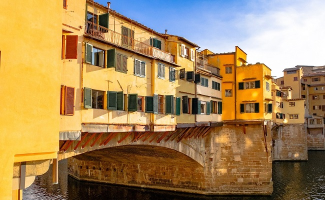 cầu ponte vecchio - kiến trúc