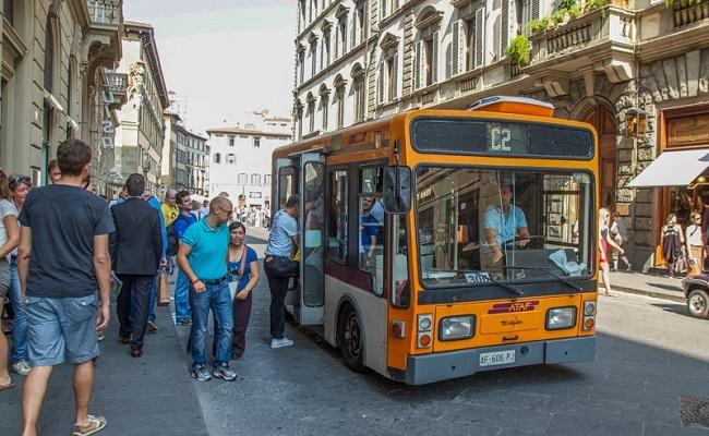 cầu ponte vecchio - xe buýt