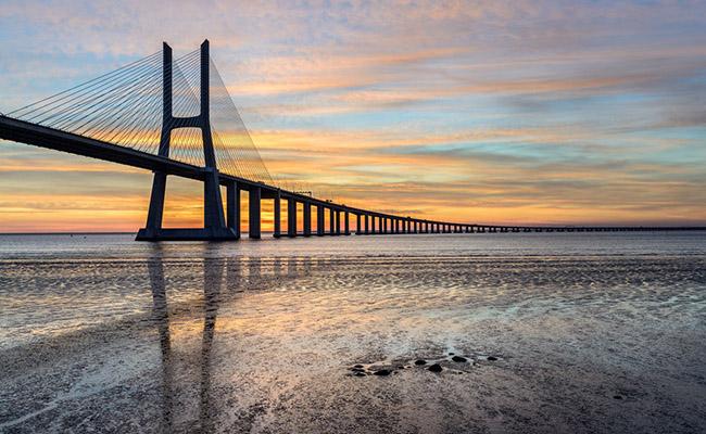 Cầu Vasco da Gama,Lisbon, Bồ Đào Nha