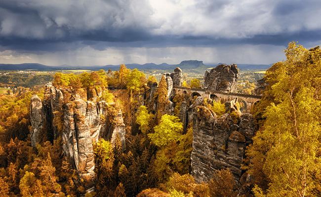 Cầu Bastei, Lohmen - Đức
