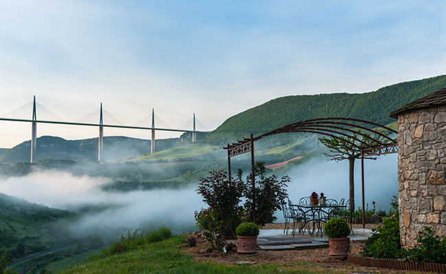 Cầu cạn Millau, Aveyron - Pháp