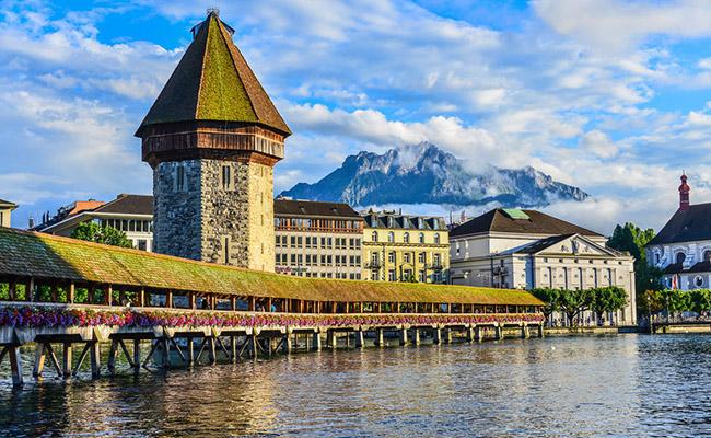 Cầu nguyện, Lucerne - Thụy Sĩ