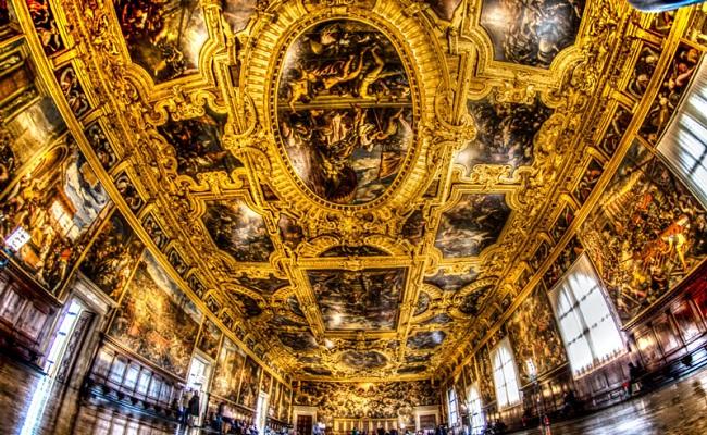 cung điện doge's palace - nội thất